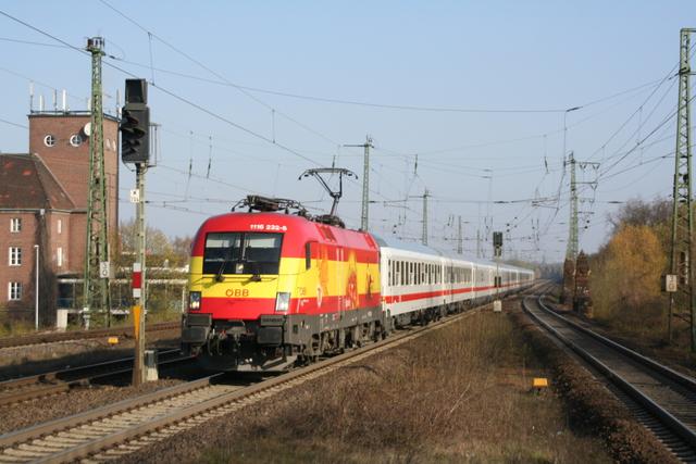 1116 232-8 Spanien Hannover-Bismarkstraße