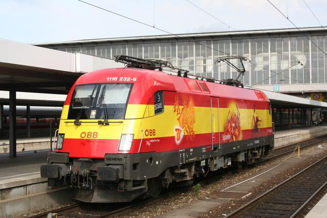 1116 232-8 Spanien München Hbf