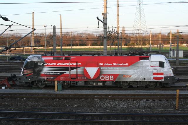 1116 246-8 Wien Zentralerverschiebebahnhof