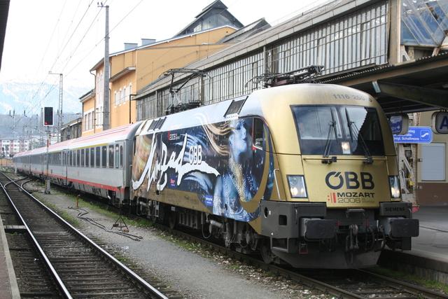1116 250-0 Salzburg Hbf