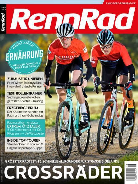 Rennrad Magazin November-Dezember No 11,12 2018