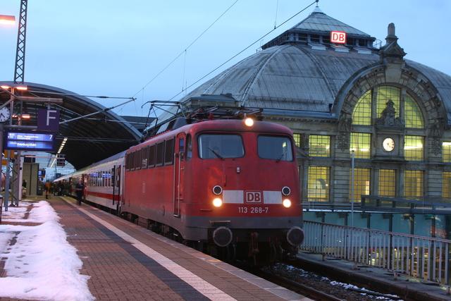113 268-7 Halle (Saale) Hbf