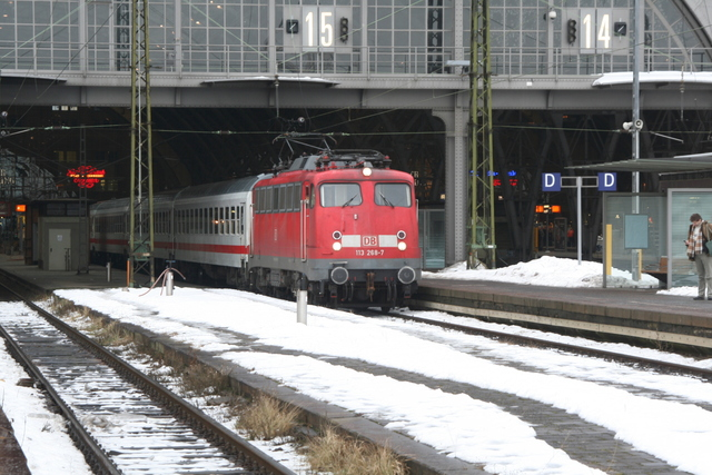 113 268-7 Leipzig Hbf