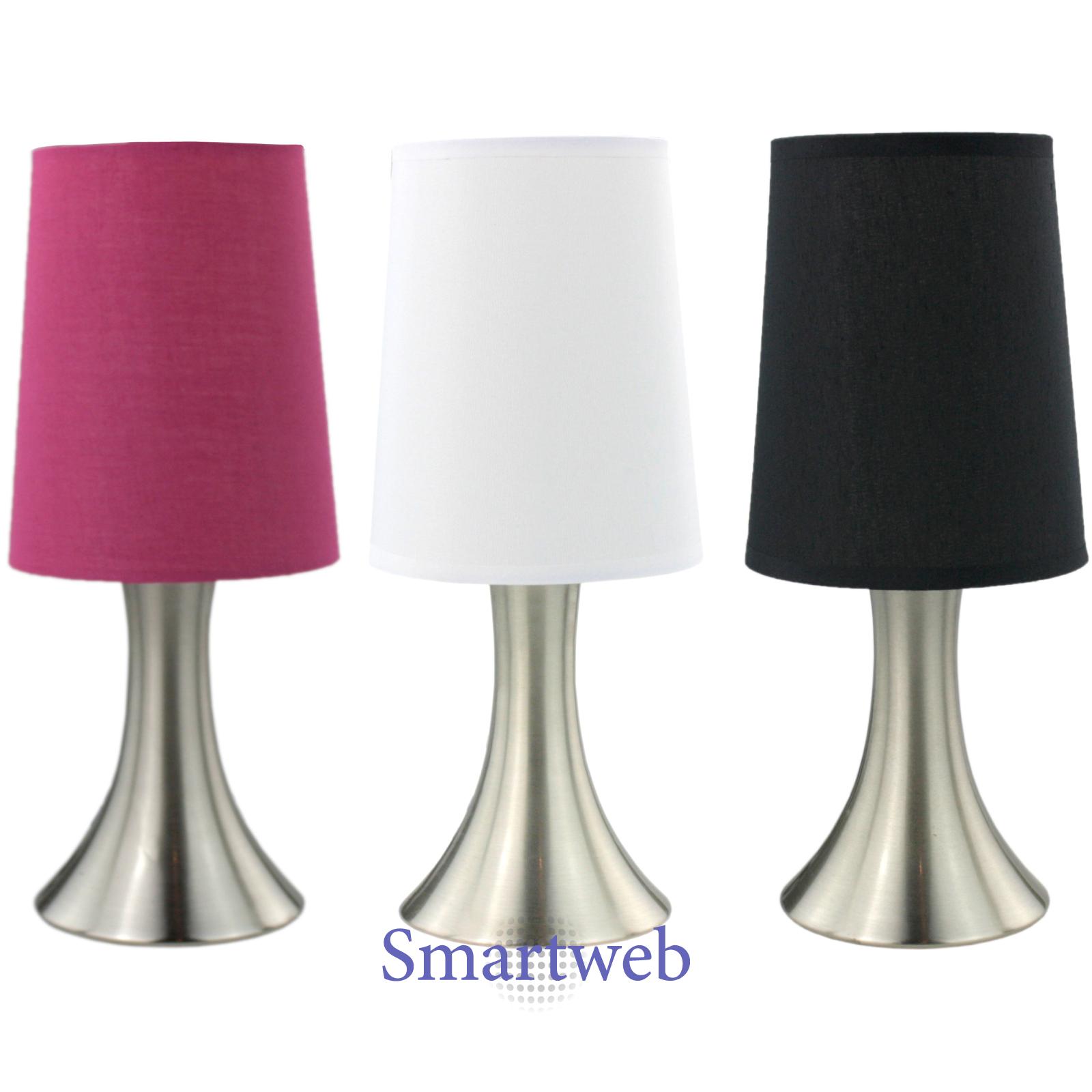 touch nachttischlampe nachttischleuchte tischlampe nachtlampe stehlampe lampe ebay. Black Bedroom Furniture Sets. Home Design Ideas