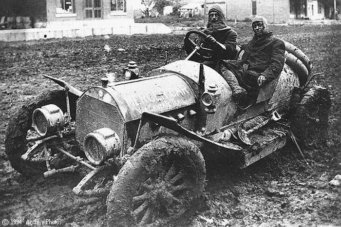 Pierwsze wyścigi samochodowe 91