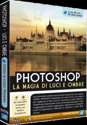 Grafica Digital Foto n.84 Video Corso Photoshop Luci e Ombre - ITA