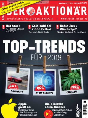 Der Aktionär Magazin No 09 vom 22 Februar 2019