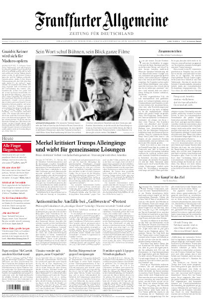 Frankfurter Allgemeine 18 Februar 2019