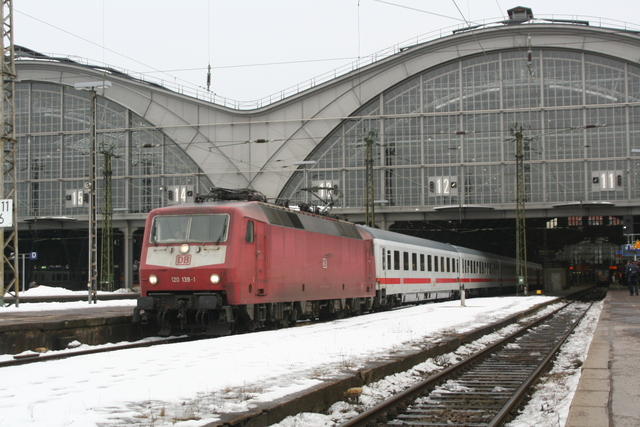 120 139-1 Leipzig Hbf