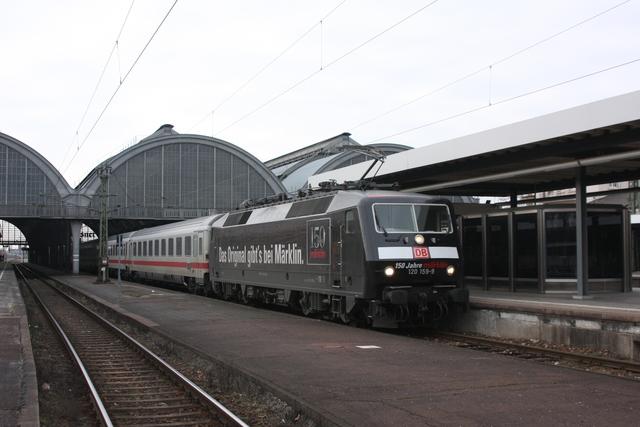 120 159-9 Ausfahrt Karlsruhe Hbf