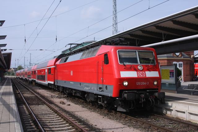 120 204-3 Rostock Hbf