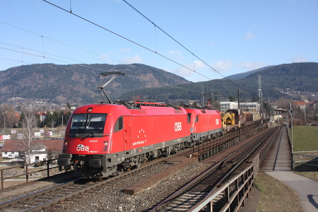 1216 0127 + 1116 098-3 Villach Draubrücke