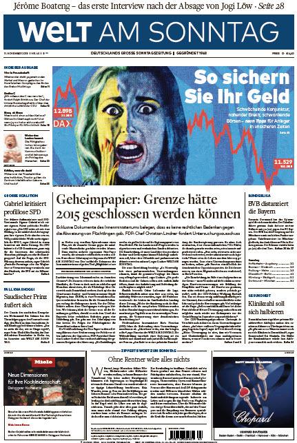 Welt am Sonntag 11 November 2018