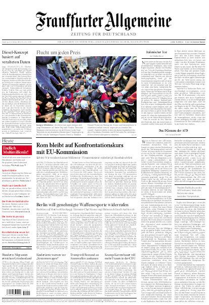 Frankfurter Allgemeine 23 Oktober 2018
