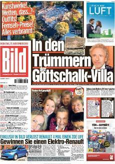 Bild Zeitung 13 November 2018