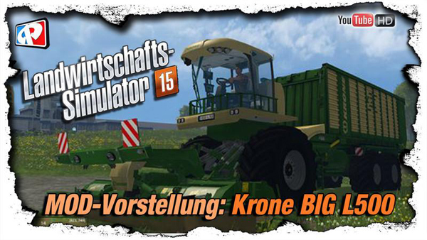 Krone BIG L500 Prototype v1.9