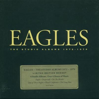 Eagles - The Studio Albums 1972-1979 [6CD - Box Set] (2013).Flac 24Bit - 192KHz