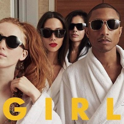 Pharrell Williams - GIRL (2014) .mp3 - 320kbps