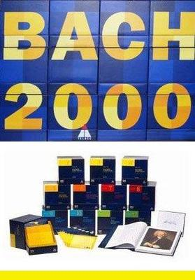 Bach Johann Sebastian - Bach 2000: The Complete Bach Edition [154 CD Box Set] (1999).Flac