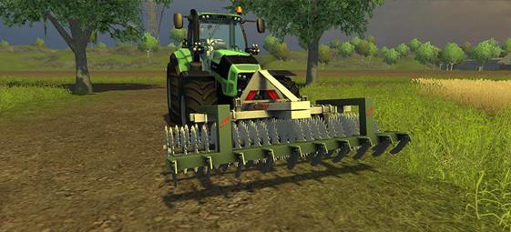 Fliegl Front Roller Cultivator V 1.0