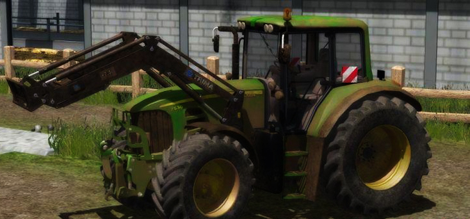 John Deere 7530P V2.1 Full Dirt