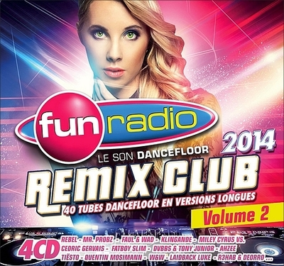 VA - Fun Radio: Remix Club 2014 Vol.02 [4CD] (2014) .mp3 - 320kbps