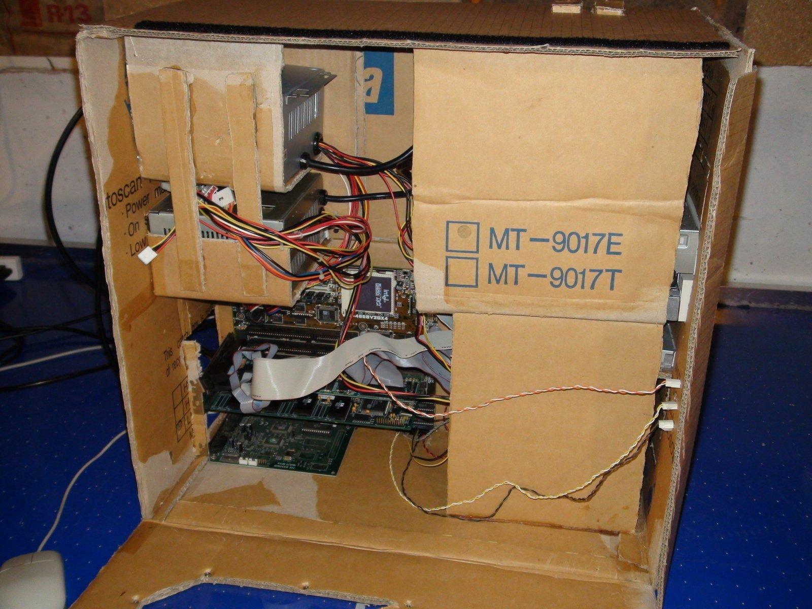 Как сделать из картона компьютер своими руками