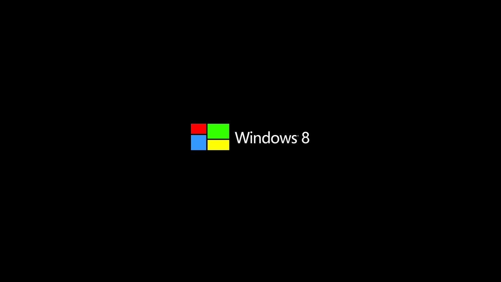 Black desktop wallpaper windows 8