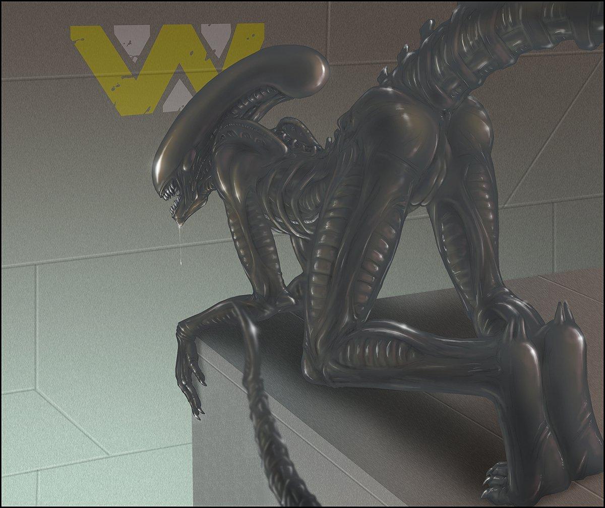 Female xenomorph ass xxx pic