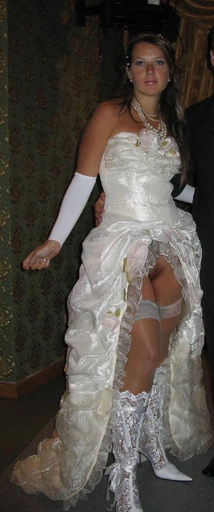 Фото без трусов невест 10 фотография