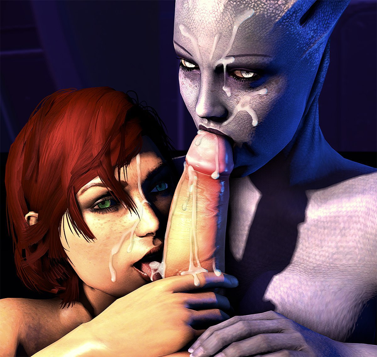 Mass effect pornpics exposed pictures