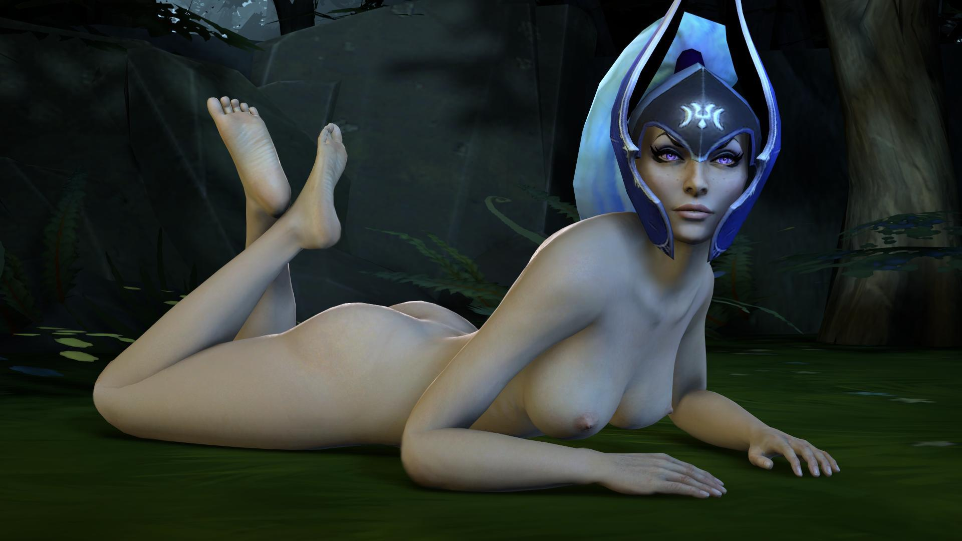 Nude mod for dota hentai video