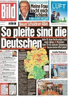 Bild Zeitung 14 November 2018