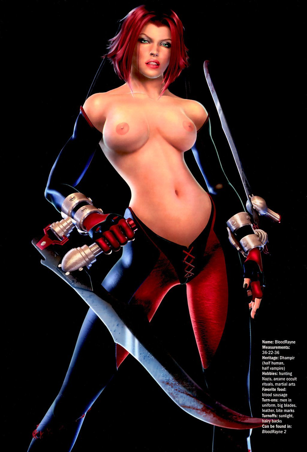 Bloodrayne porn human porno photo