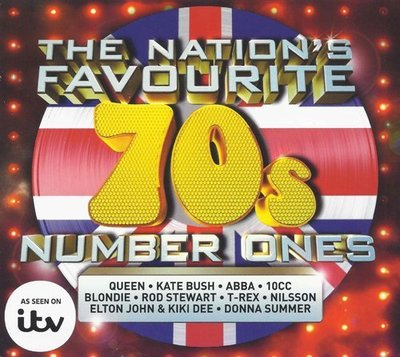 VA - The Nation's Favourite 70s Number Ones [3CD] (2015) .mp3 - 320kbps