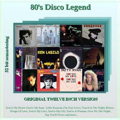 80's Disco Legend [11 Cd] (2008).Mp3 - 320Kbps
