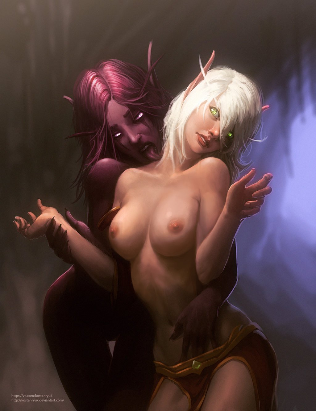 Erotic male night elf sexy images