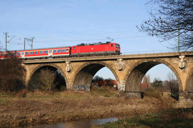 143 007-3 Hildesheim Innerstebrücke
