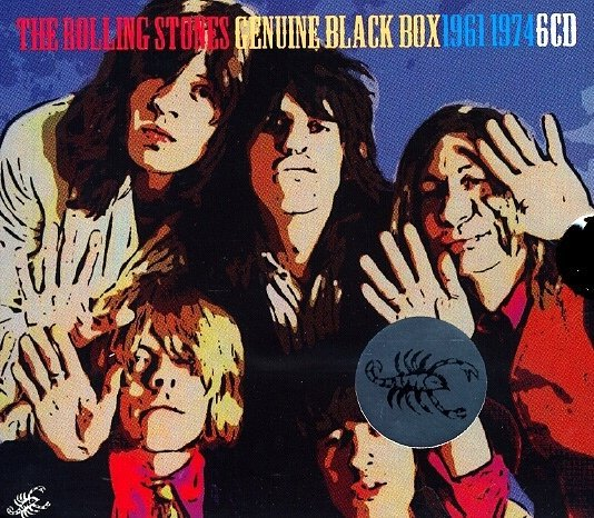 The Rolling Stones ‎- Genuine Black Box 1961-1974 (2010)