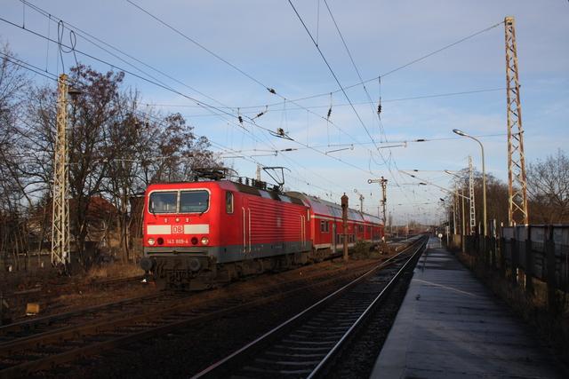 143 889-4 Ausfahrt Finsterwalde (Niederlasusitz)