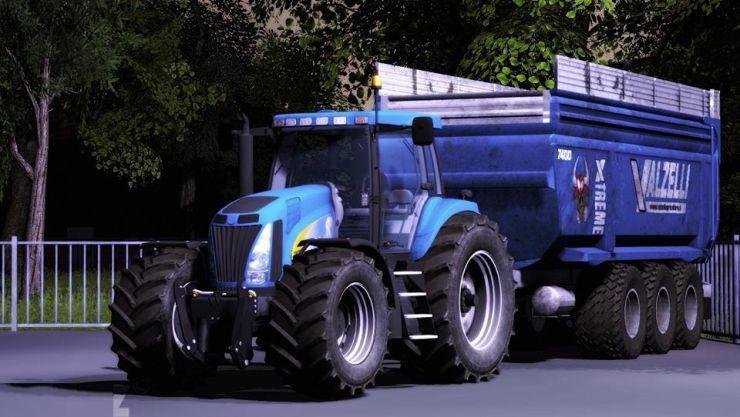 NEW HOLLAND T8020 TRACTOR V 4.5