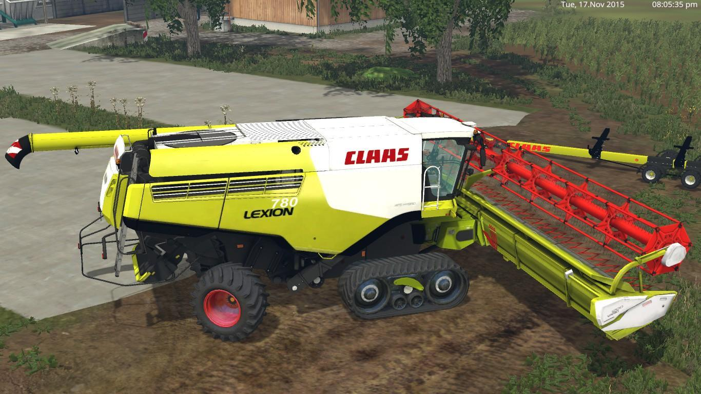 CLAAS LEXION 780 COMBINE V 1.2