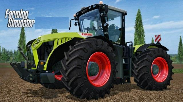CLAAS XERION 4500 TRACTOR V 2.2