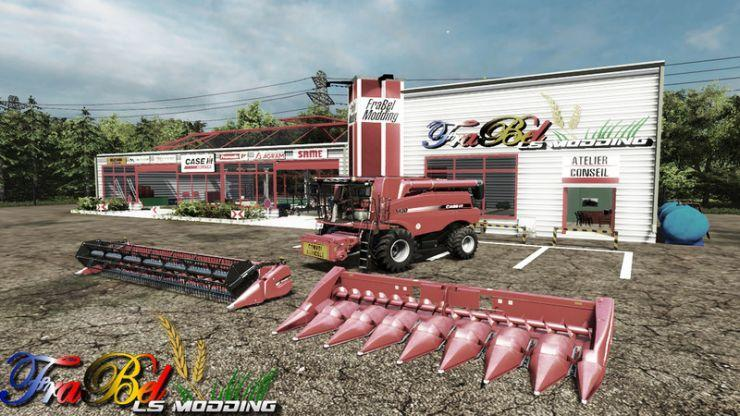 CASE IH 5130 AXIAL FLOW FINAL VERSION COMBINE