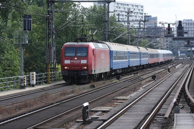 145 015-4 Railion DB Logistics Berlin Tiergarten