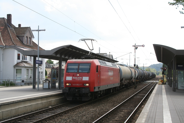 145 052-7 Railion DB Logistics Bennigsen