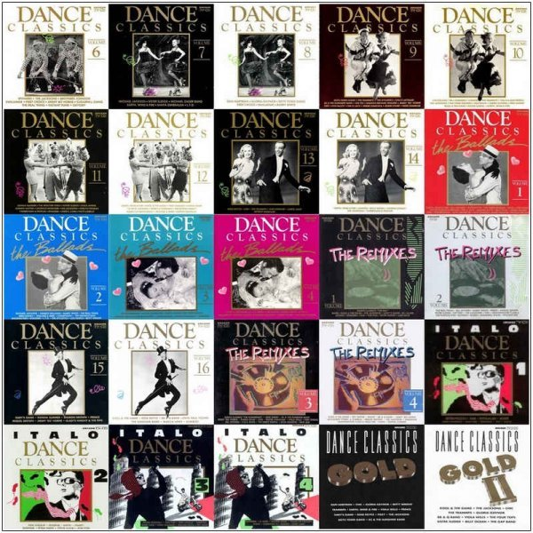 Dance Classics - Collection [85 Albums & Box Sets] (1988-2013)