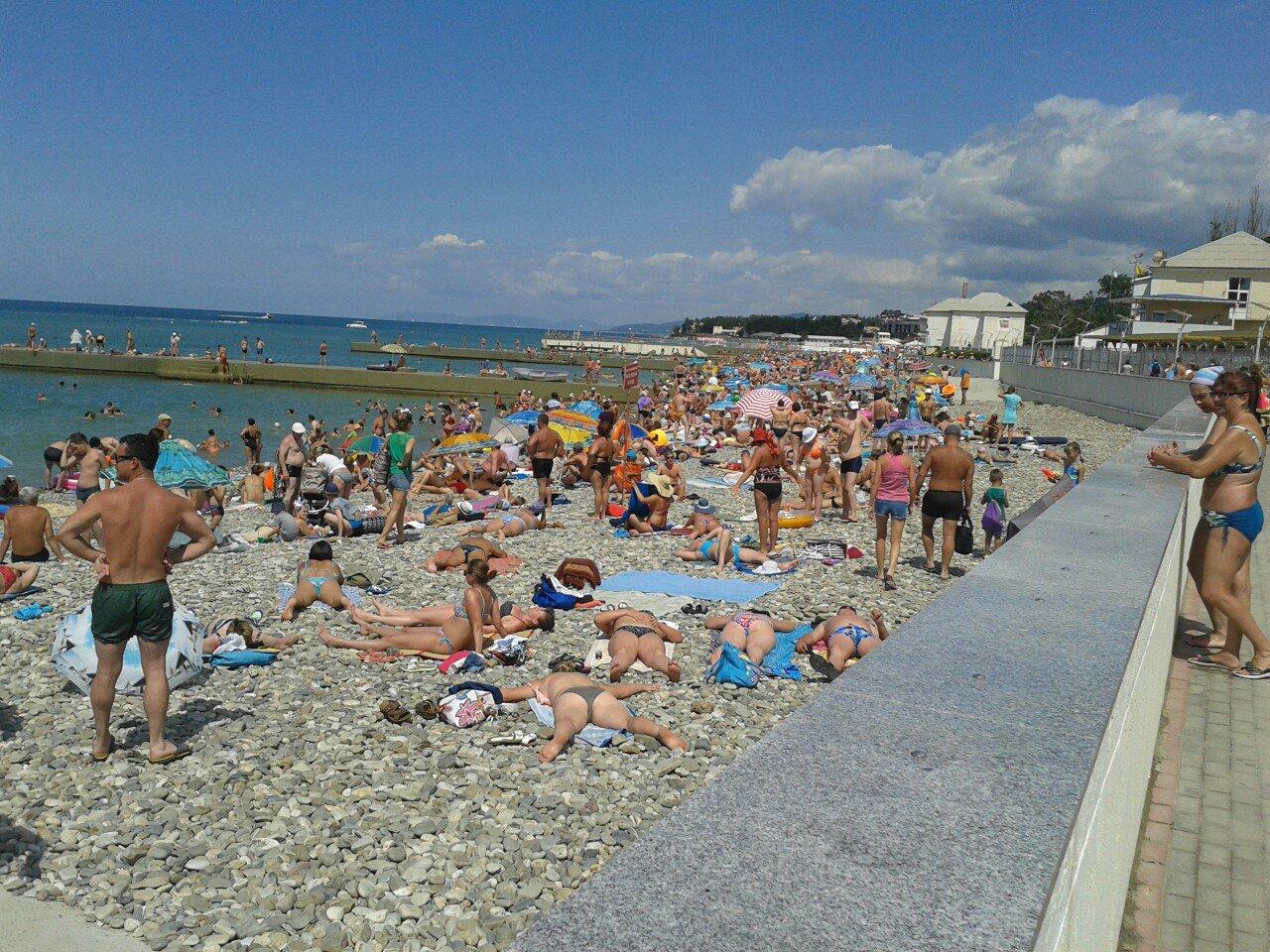 Пляжи Геленджика 2018: городские, дикие, платные. Фото пляжей 47