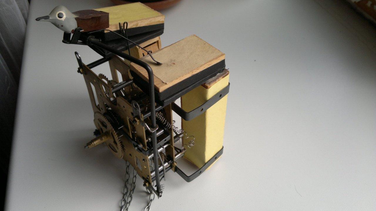 Механизм для часов с кукушкой своими руками 93