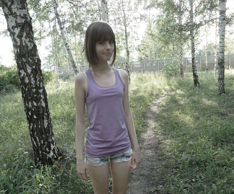Фото совсем юная